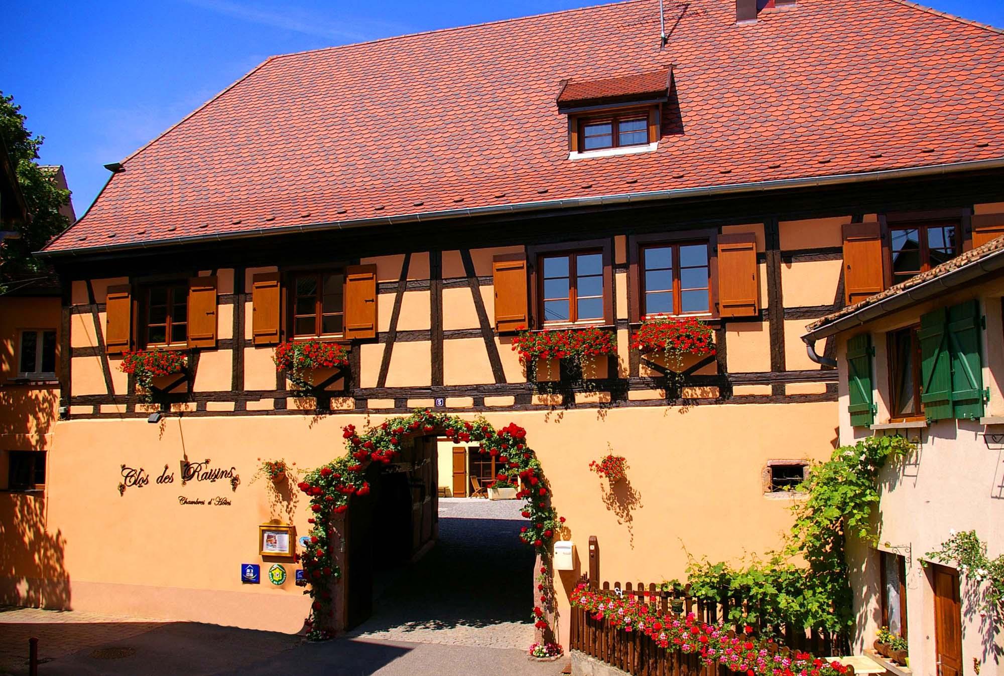 Le CLOS DES RAISINS Chambre d H´tes de charme en Alsace Ancienne