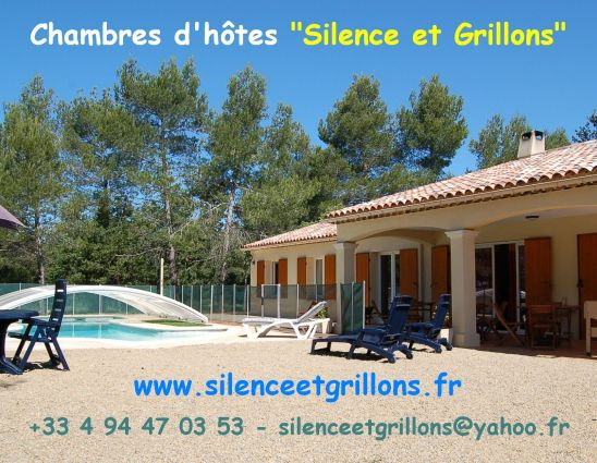 Silence et grillons